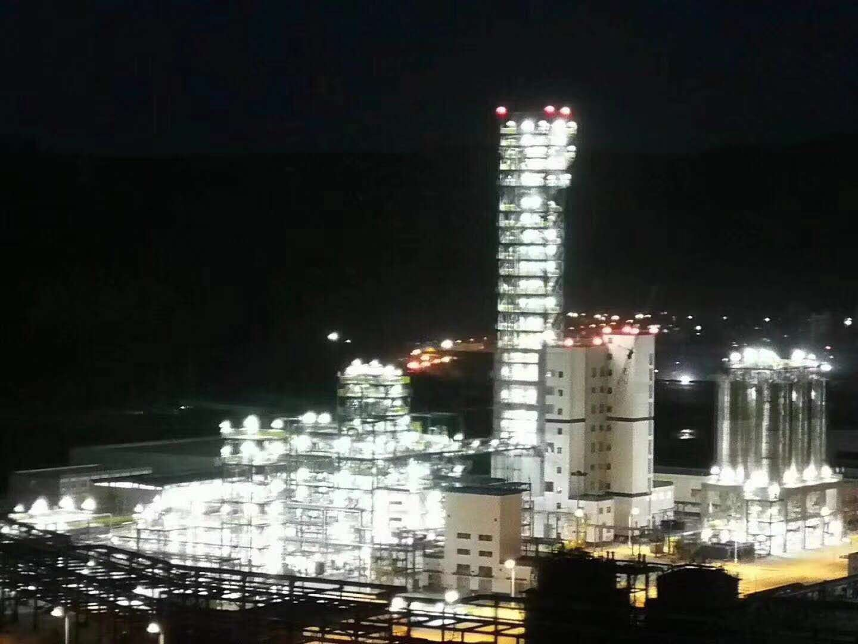 华荣防爆延长石油重点项目延能化现场