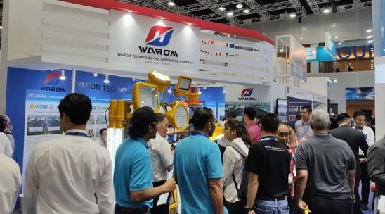 华荣防爆绽放马来西亚石油天然气、石化技术展
