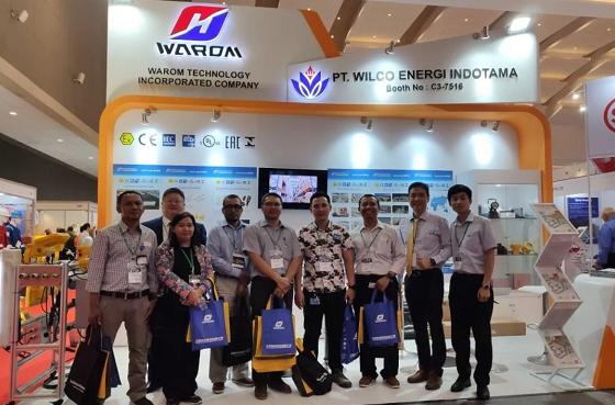 华荣防爆在第12届印尼国际石油天然气展恭迎八方来宾