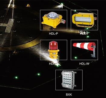 HDL直升机平台助降信号灯系统