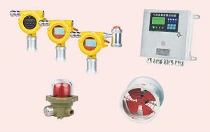可燃(有毒)气体探测系统