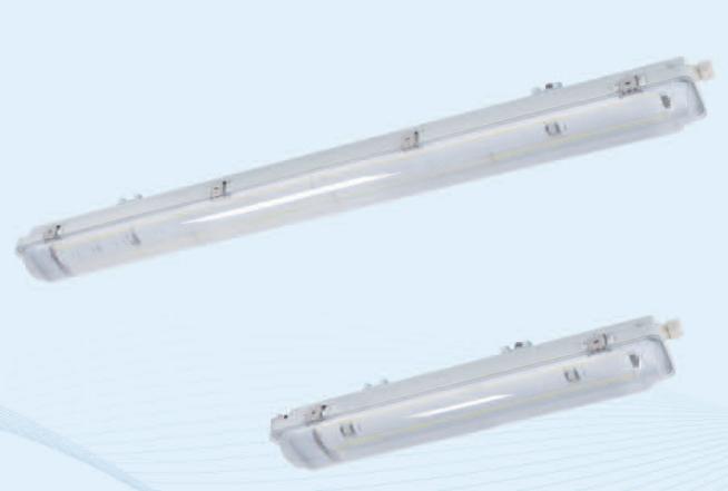 防水防尘防腐全塑LED荧光灯